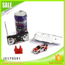 Hot toys coke can mini rc car mini car for kids