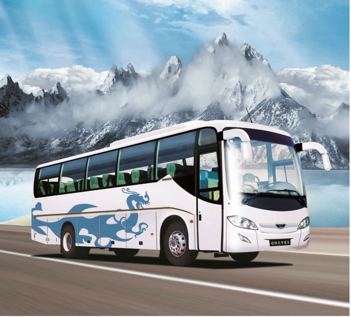 daewoo new coach GDW6119H passenger used buses for sale