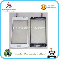 factory cells transparent glass touch screen for LG L80 dual SIM