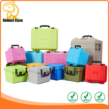 OEM Manufacturer Rugged Hard Plastic Equipment Case with foam