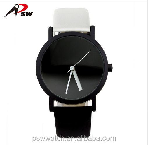 2017 creative design wristwatch blackand white hit colour fashion Changeable number quartz watches