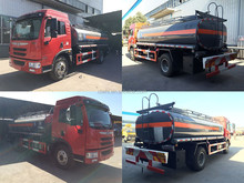 FAW chemical tank truck, Sulfuric Acid,Hydrochloric Acid,Ammonia, 10000 liters chemical tanker truck