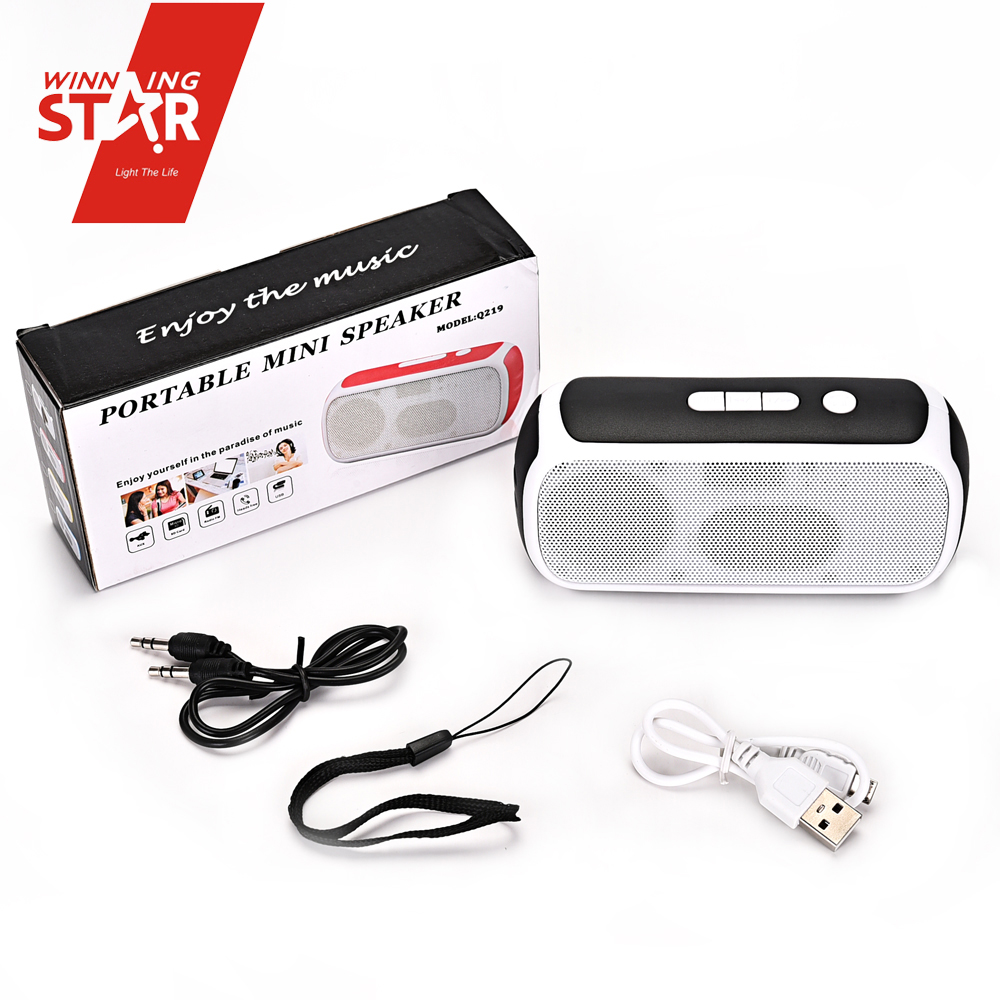 New rectangular shape mini speakers baseball cap radio cassette recorder in music <strong>MP3</strong>