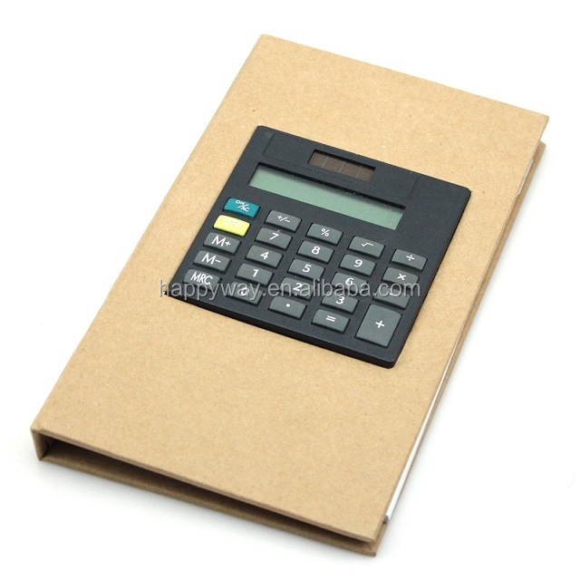 Hot SaleHigh Class Notebook With Calculator 0703052 MOQ 100PCS One Year Quality Warranty