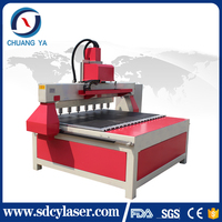 High quality cnc cutting machine / wood / glass / plastic / metal / advertising cnc router / Mdf 1325 engraver