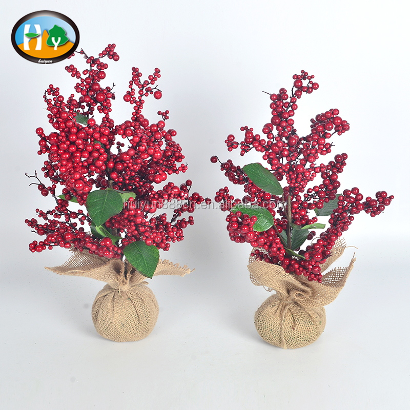 Artificial Christmas Tree Home Decorations With Red Ball Christmas trees