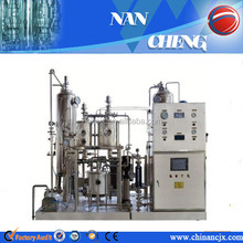 high content automatic carbonator for soft drink