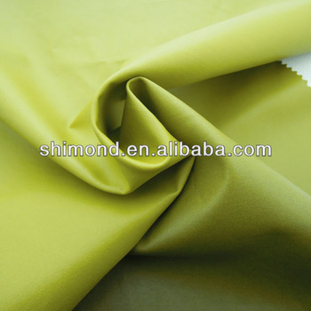 Gradient Yellow PU Material For Clothes