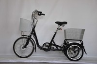 Pedal Cargo three wheel moped Made in China