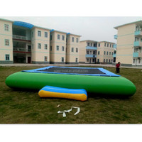 Square Inflatable Water Trampoline
