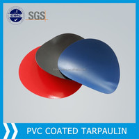 PVC coated fabric suitable truck cover, fireproof cloth material