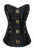 Spiral Steel Boned Waist Training Shaper full body corset sexy corset