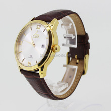 Reliable quality brand leather strap watches for women