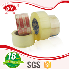 High Transparency Acrylic Adhesion BOPP based Sealing Tape