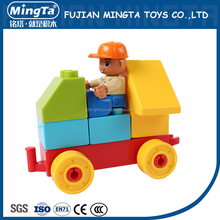 plastic DIY Building contruction Bricks Toys Mater Brains