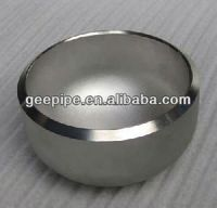carbon steel pipe cap fitting,dish end