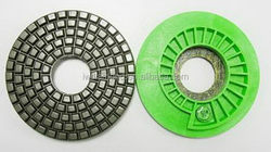Fashionable best sell diamond velcro polishing pads