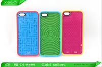Newest creative style maze game silicone case for iphone 5