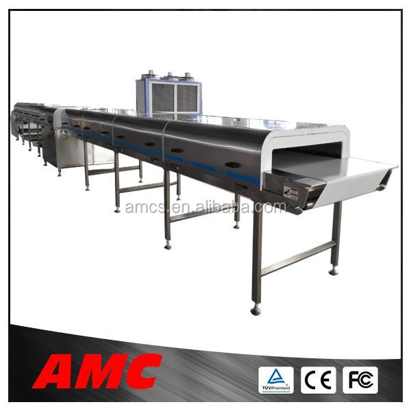 Newest Process Technology Cleaning Multifunction evaporated milk machine Cooling Tunnel Machine For Production Line