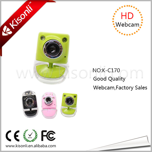 Night vision mini web camera toy, usb webcam with mic driver