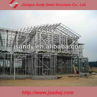 resident house steel structure for warehouse workshop building office