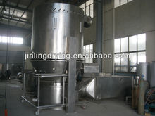 Special vertical non-standard fluid bed dryer for titanium dioxide