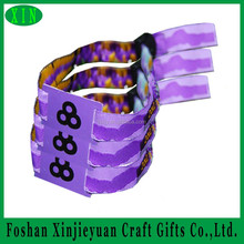 Custom Waterproof RFID Wristbands /NFC Bracelet / HF Wristlet for Sports, Events, Party and Access Control