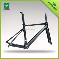 Hot sale HQR02 3K/uk road 700c carbon frame Super light