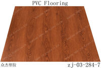 recycled material for 4mm~5mm pvc plastic click flooring