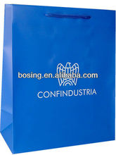 glossy paper shopping bag