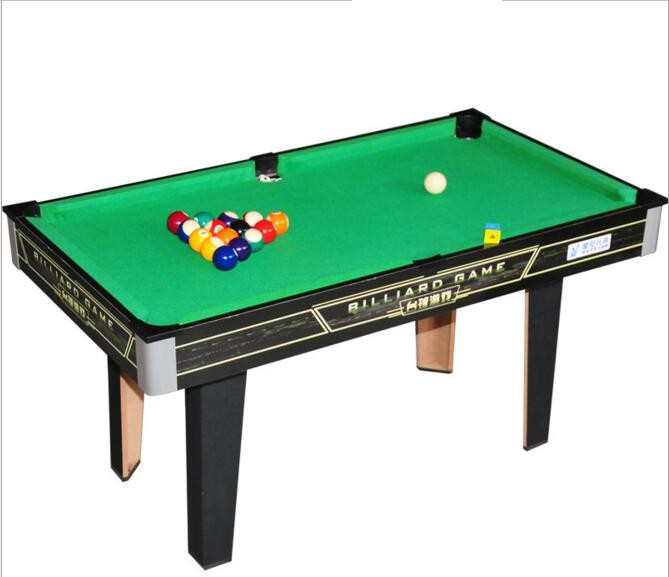 Children Playing Mini Billiard Durable Pool Table