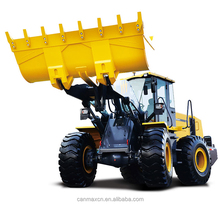 Wheel loader LW500FN 5T Earth moving machinery with Log Clamp for sale