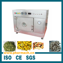 Laboratory type microwave vacuum dryer machine for test in the lab