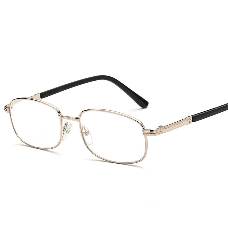 Laura Fairy Classic Metal Full Rim Curve Design Gold Color Reading Glasses Women Men 1.00/1.50/2.00/2.50/3.0/3.50/4.00
