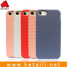 Good quality OEM design wholesale Silicone+PC mobile phone case cover for iphone 7