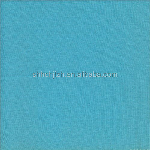 knit combed cotton plain shirting fabric