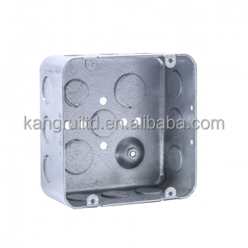 "UL Junction Box with 1-1/2: depth and 1/2"" Side Knockouts"