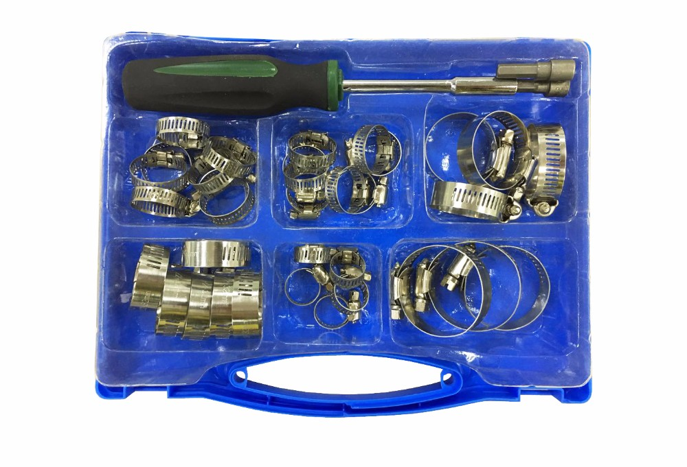 New Product 37pc Adjustable Hose Clamp Assortment