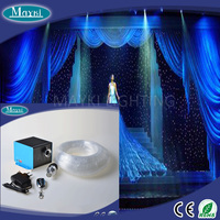 2016 Factory supply 238 points fibre optic lighting kit with three different size fiber 5W light source