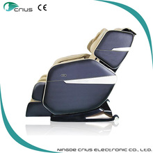 real pro 3D massage chair recline PU leather massage chair