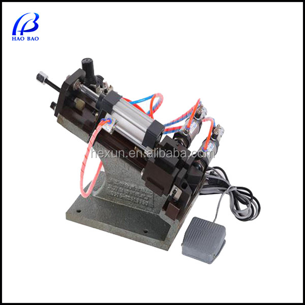 HW-A305 Pneumatic scrap copper cable stripper machine Stripping Diameter: 1-9mm Cable Making Equipment for Phone Wire