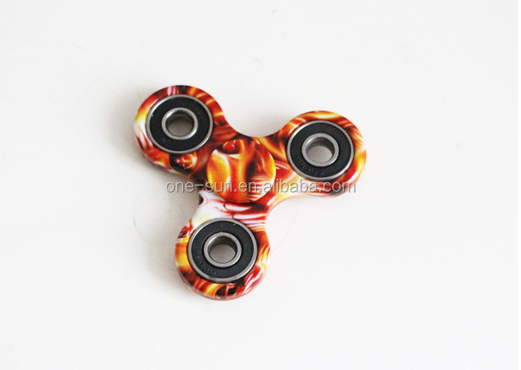 Hot Sale Anti Pressure Gyro Toys 2017 camouflage fidget finger spinner