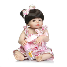 educational very cheap toys guangzhou handmade full body solid silicone reborn baby doll