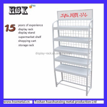 customized shelf nuts display rack