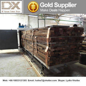 Vacuum Wood Drying Machine Radio Frequency RF Lumber Dryer Kiln