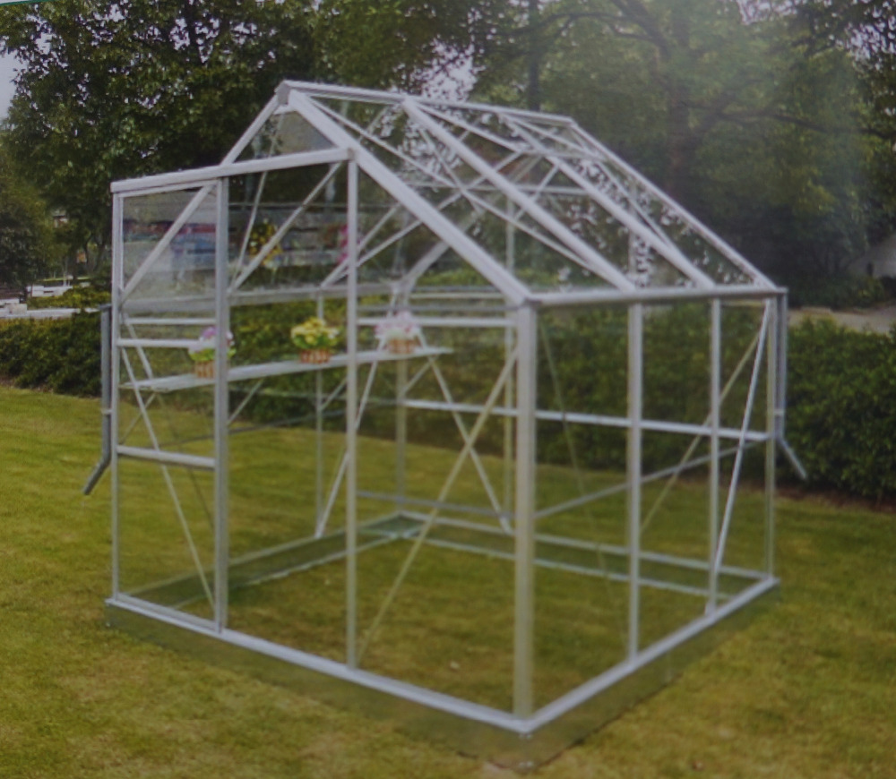 GRACE Hobby Greenhouse garden shed sun house, glass,plastic,pc greenhouse