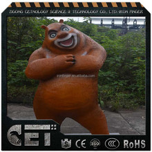 CET-A 357 Vivid Life Size Animated Artificial Fiberglass Cartoon in animated film