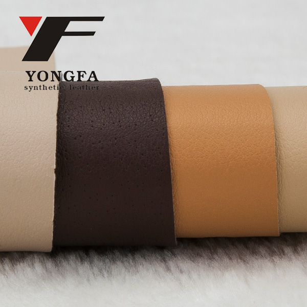 DE73 Footwear raw material synthetic lining material imitation leather price per meter for shoe(cuero sintetico para)