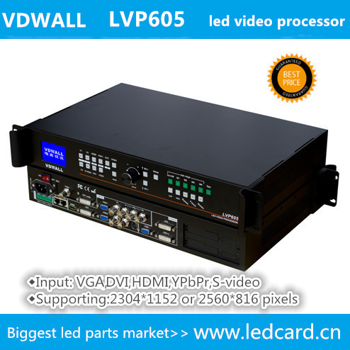 Professional VDWALL LVP605 LED Display Scaler, LED Screen Display Video Processor
