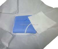 Non sterile disposable hospital clothing